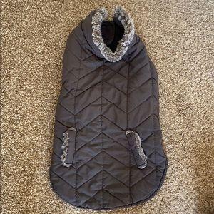 Reversible dog jacket